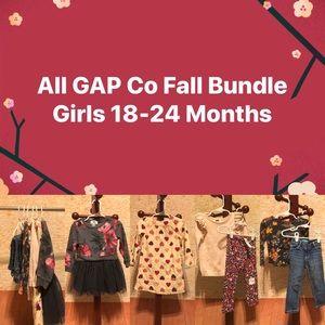 Girls All Gap Co Autumn 🍂 Bundle 18-24 Months EUC